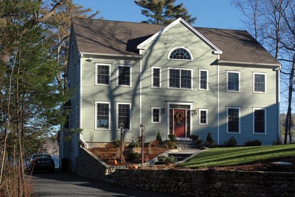 Lakeside custom home