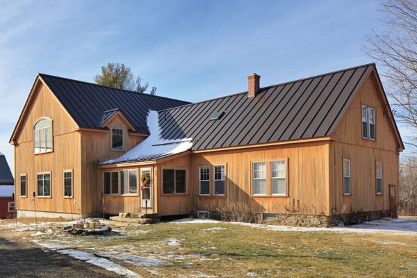 Hardwick farm house addition