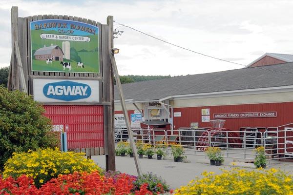 Hardwick Farmers Co-op commercial project
