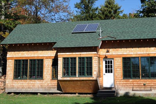 Cabin on the Ledges custom home