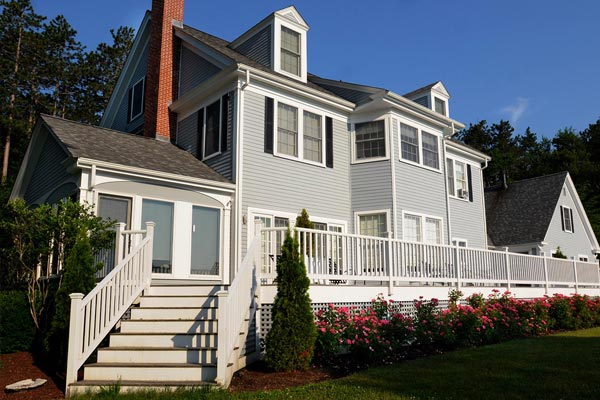 Colonial with Three Dormers custom home