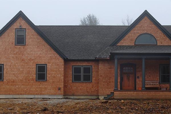Keyes Road custom home